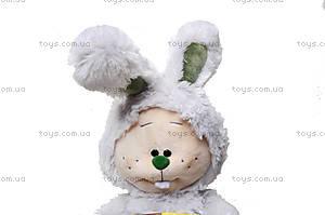 Мягкая игрушка «Зайчик-почемучка», К351СВ, отзывы