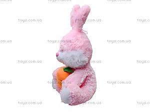 Плюшевый зайчик с морковкой, 377635, купить