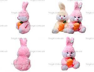 Плюшевый зайчик с морковкой, 377635