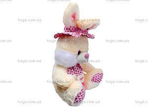 Плюшевый зайчик с шарфом, 50 см, 363850, купить