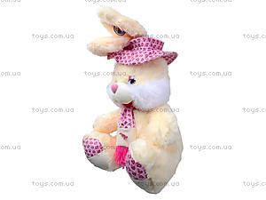Плюшевый зайчик с шарфом, 50 см, 363850, фото