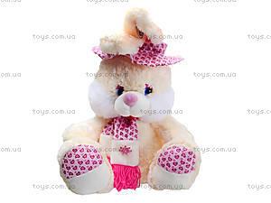 Плюшевый зайчик с шарфом, 50 см, 363850, цена