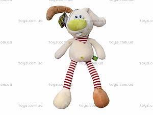Плюшевая игрушка «Зайчик Скик», К421А, фото