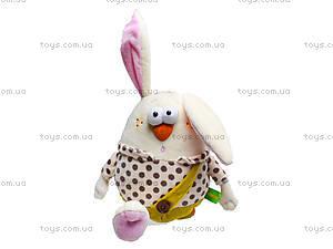 Плюшевый заяц «Ванильчик», К387С, фото