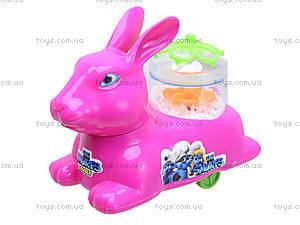 Зайчик заводной игрушечный, 5059-2, детские игрушки