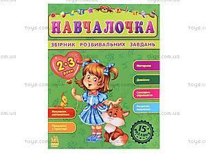 Сборник развивающих заданий «Обучалочка» 2-3 года, С479013У1857, фото