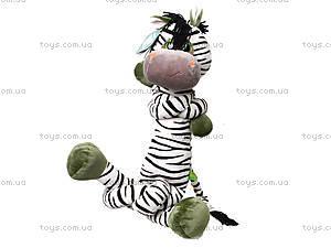 Плюшевая зебра «Сафари», К425В, купить