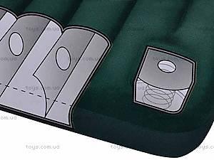 Зеленая надувная кровать, 66950, купить