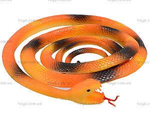 Резиновая игрушка «Змея» 70см, H387, игрушки