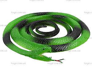 Резиновая игрушка «Змея» 70см, H387, детские игрушки