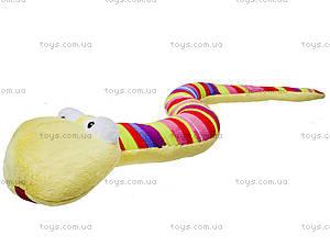 Мягкая змея «Изабелла», К306В, игрушки