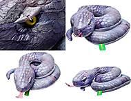 Плюшевая змея «Лиза», К312В, фото