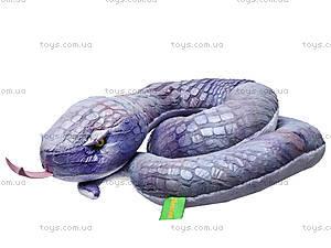 Плюшевая змея «Лиза», К312В, игрушки