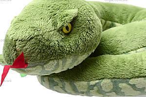 Большая игрушечная змея «Луиза», К313А, фото