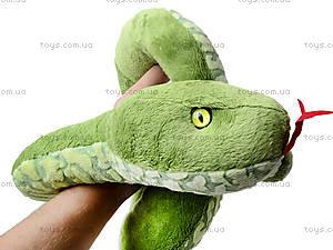 Большая игрушечная змея «Луиза», К313А, детские игрушки