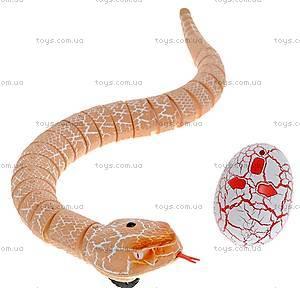 Змея Rattle Snake на инфракрасном управлении, коричневая, LY-9909D, фото