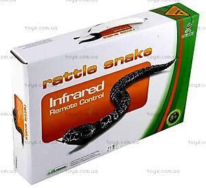Змея Rattle Snake на инфракрасном управлении, коричневая, LY-9909D, игрушки