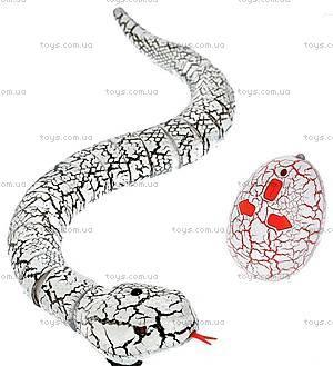 Змея Rattle Snake на инфракрасном управлении, серая, LY-9909B, фото