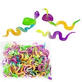 Змея, резиновая, светится (упаковка 96 штук), 177GLP, купить
