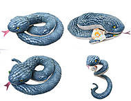 Игрушечная змея «Стелла», большая, К311А