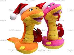 Игрушечная змея в новогоднем колпаке, M-ZY102416, отзывы
