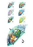 Детский зонтик «Мультгерои», 6 видов, CEL-36, тойс ком юа