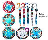 Зонт Cars со свистком, 5 видов, K002, іграшки