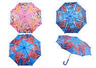 Зонтик с мультгероями, 4 вида, CEL-276, детские игрушки