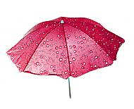 """Зонт пляжный """"Капельки"""" розовый, C36390"""