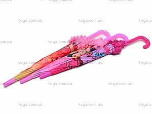 Зонтик для девочек, 3 вида, 10215-24, фото
