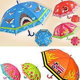 Зонтик цветной, с рисунком, BT-CU-0017, детский