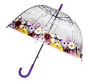 Зонтик детский фиолетовый, MK3642, Украина