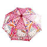 Зонтик «Hello Kitty» с сердечками, CEL-262, цена