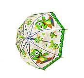 Зонтик прозрачный «Жабка» (зеленый), BT-CU-0018, купить