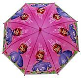 Зонтик «София Прекрасная» розовый, K206, фото