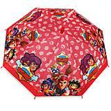 Зонтик-трость детский красный (MK 4565), MK 4565, тойс ком юа