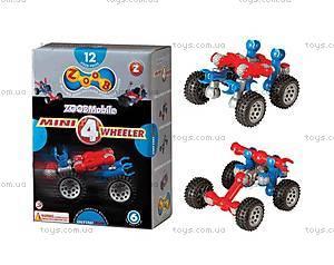 ZOOB конструктор подвижный детский Mini 4 Wheeler, 12050