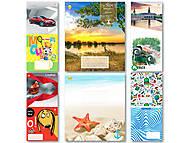 Тетрадь на 18 листов в клетку, ТЕ91288, интернет магазин22 игрушки Украина