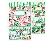 Тетрадь «Тропики» в клетку на 24 листа , ТЕ91386, игрушки