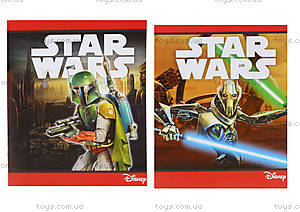 Тетрадь в клетку серии Star Wars, 48 листов, Ц557013У