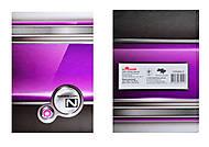 Тетрадь А5 в твердом переплете «Металлика», 1050402, фото