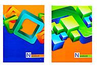 Тетрадь в твердой обложке «Серия Note book», 80 листов, 1050403, фото
