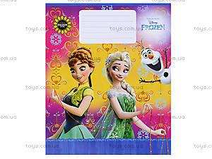 Школьные тетради для девочек, серия «Frosen», Ц558017У, фото