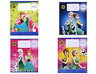 Школьные тетради для девочек, серия «Frosen», Ц558017У, купить