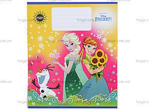 Тетрадь «Frozen» в клеточку, Ц558016У, игрушки