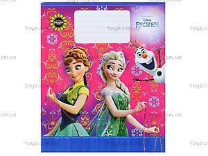 Тетрадь «Frozen» в клеточку, Ц558016У, детские игрушки