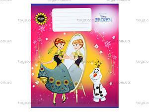 Тетрадь «Frozen» в клеточку, Ц558016У, магазин игрушек