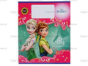 Тетрадь «Frozen» в клеточку, Ц558016У, toys