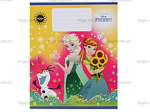 Тетрадь «Frozen» в клеточку, Ц558016У, іграшки