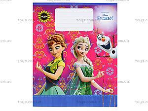 Тетрадь «Frozen» в клеточку, Ц558016У, детский